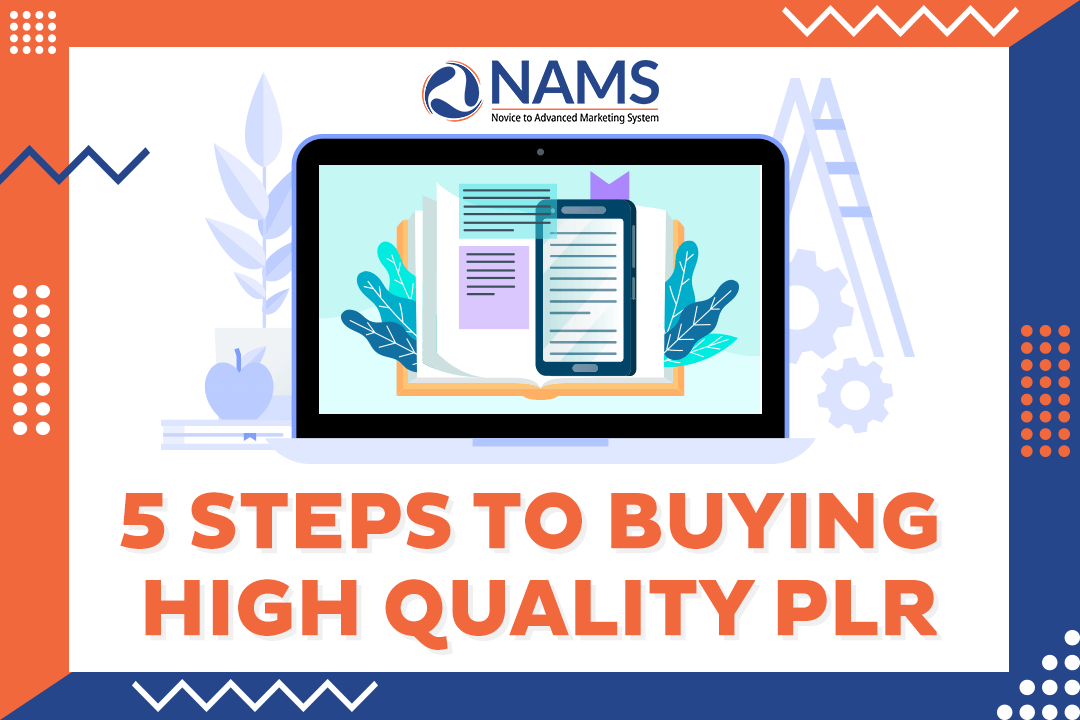 5 Steps To Buying High Quality PLR