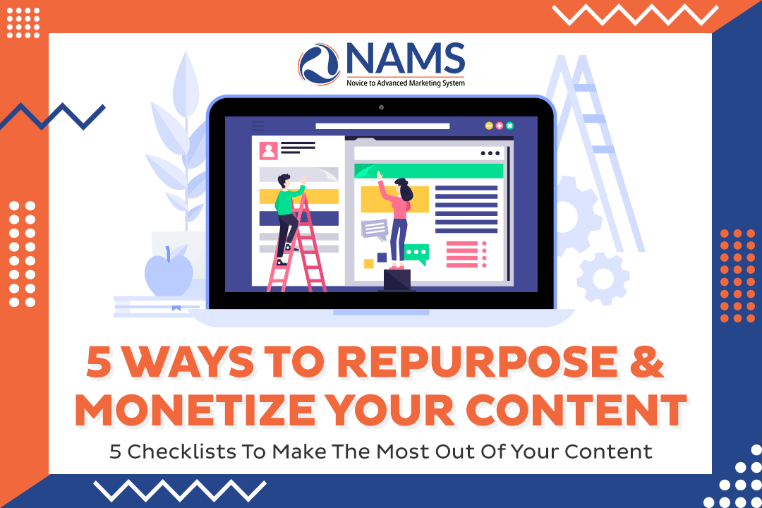 5 Ways To Repurpose and Monetize Content